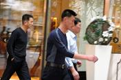 Ảnh hiếm về vệ sĩ Chủ tịch Triều Tiên Kim Jong-un tại Hà Nội