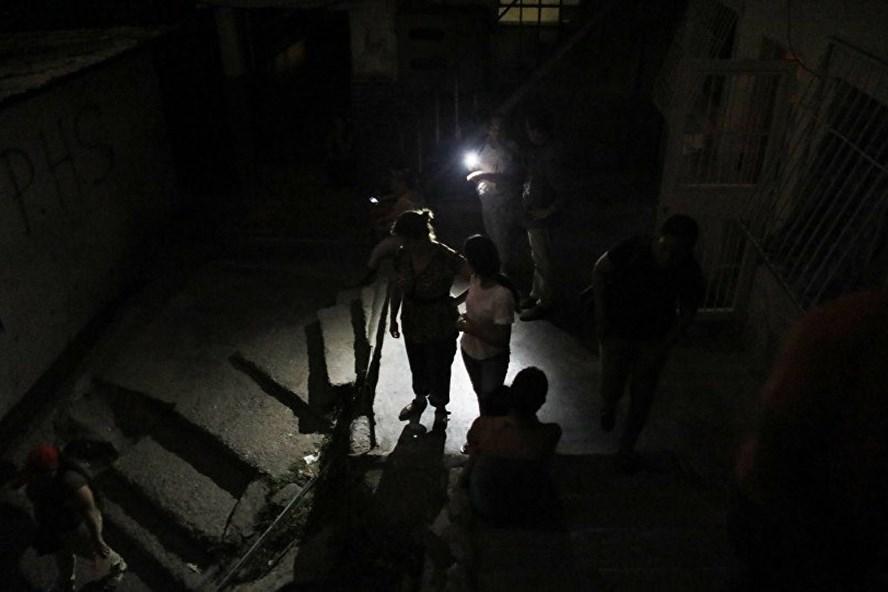Venezuela trải qua đợt mất điện trên diện rộng mới. Ảnh: AP.