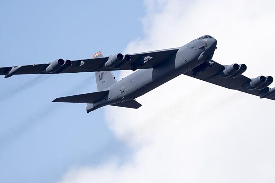 Một máy bay ném bom B-52 của Mỹ. Ảnh: Sputnik.