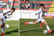 Giỏi như cha, con trai Ronaldo nã 7 bàn thắng vào lưới đội bạn