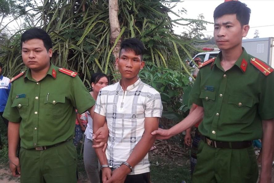 Đối tượng Hồ A Hùng bị bắt giữ. Ảnh: HT.