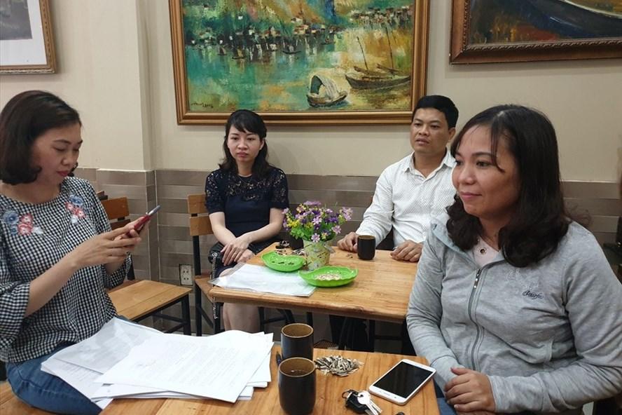 Người lao động tại BQL dự án Nâng cấp đô thị Hải Phòng kiến nghị về việc mất việc làm, quyền lợi không được đảm bảo.