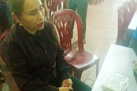 Vận chuyển ma túy xuyên quốc gia, một phụ nữ bị bắt
