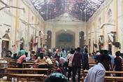 Hiện trường vụ nổ hàng loạt tại các nhà thờ, khách sạn ở Sri Lanka