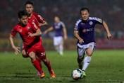 """Xem Thành Lương đi bóng """"ma thuật"""" ở bàn thắng thứ hai của Hà Nội FC"""