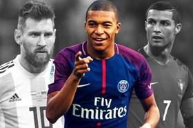 Top chiếc giày vàng Châu Âu: Ronaldo hụt hơi, Mbappe rượt đuổi Messi