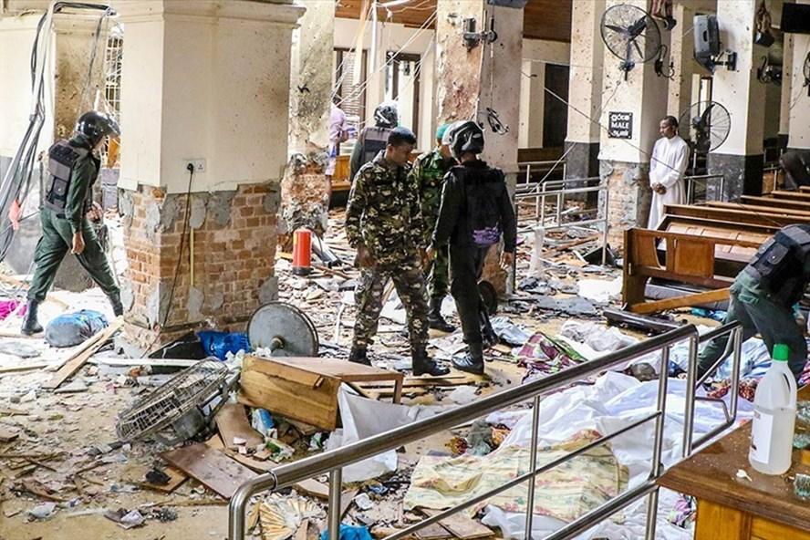 Sri Lanka phải hứng chịu những vụ đánh bom cực đoan trong thời gian gần đây. Ảnh: Anadolu