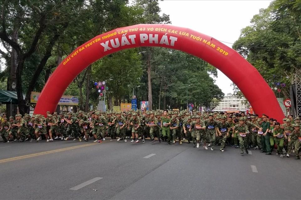 2.000 VĐV tham gia Giải Việt dã truyền thống TPHCM 2019