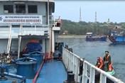 Hải Phòng: Bắt giữ tàu chở 200 tấn dầu không rõ nguồn gốc