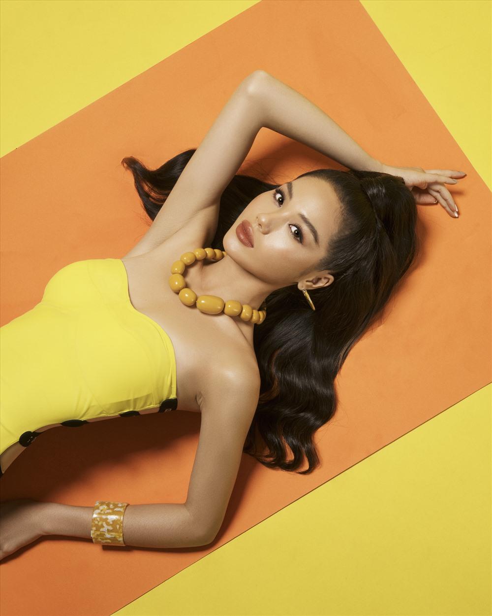 Trâm Anh là thí sinh nữ được chú ý nhất nhờ gương mặt khả ái, có nét đẹp ngọt ngào trong The Face Vietnam 2018 nên cô nhận được sự ưu ái lớn của người hâm mộ. Ảnh: Rin Trần.