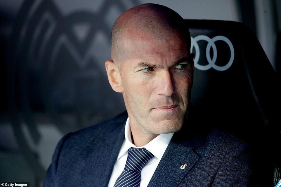 Zidane đã hết kiên nhẫn. Ảnh: Getty.