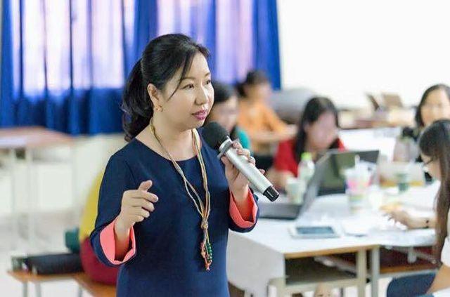 Bà Tô Thụy Diễm Quyên, chuyên gia giáo dục toàn cầu. Ảnh: DT.