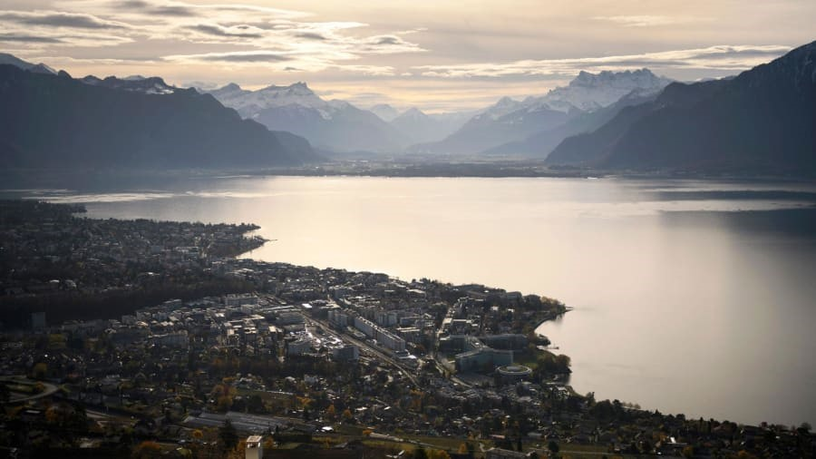 Vevey, Switzerland: This lakeside Swiss town will host the Fete des Vignerons wine festival in July. Fabrice Coffrini/AFP/Getty Images