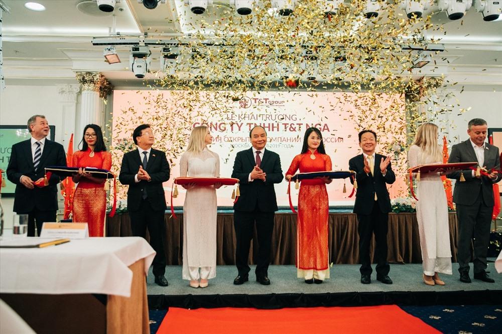 Việc mở công ty tại Nga nhằm hiện thực hóa mục tiêu đưa T&T Group trở thành một Tập đoàn lớn mạnh hàng đầu Việt Nam. Ảnh: T&T