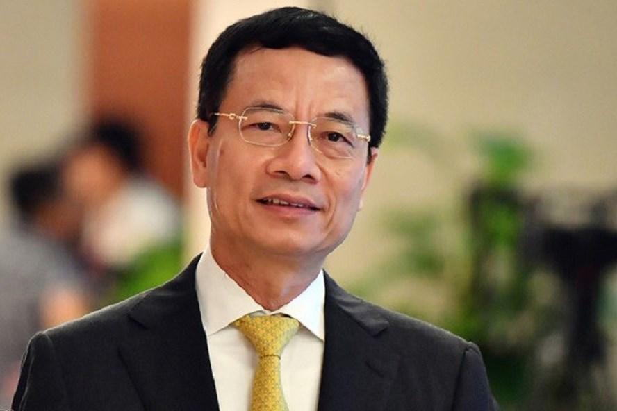 Ông Nguyễn Mạnh Hùng - Bộ trưởng Bộ Thông tin - Truyền thông kì vọng Mobile Money sẽ tạo ra đột phá về thanh toán điện tử tại Việt Nam.