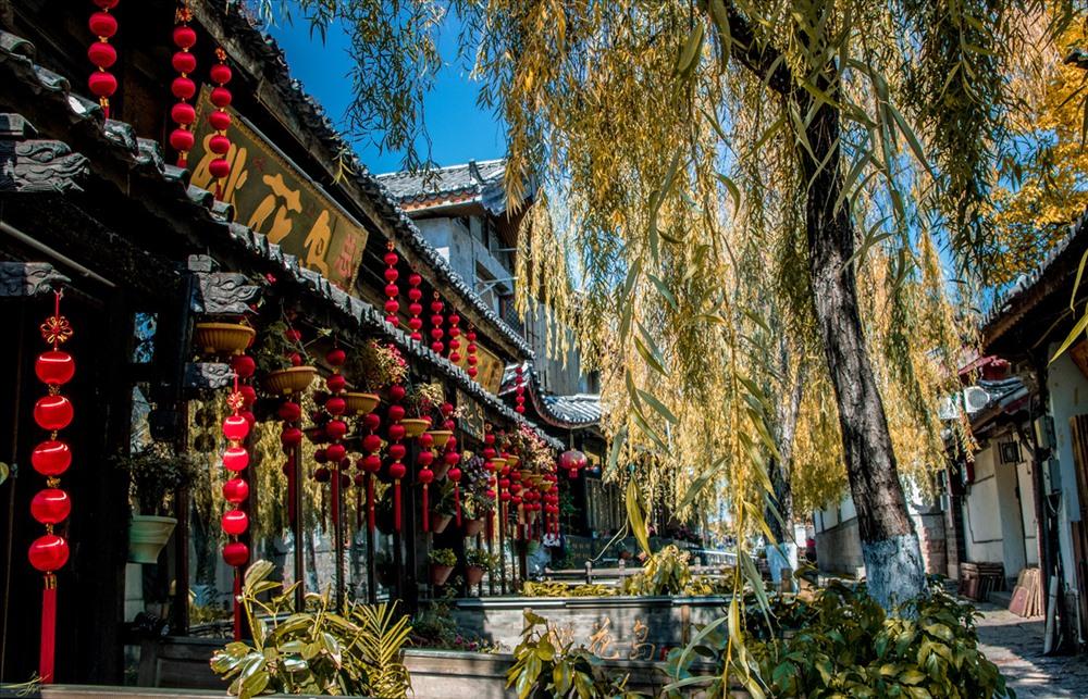 Các kiến trúc được xây dựng từ thời Tống-Nguyên được giữ nguyên vẹn đến tận nay