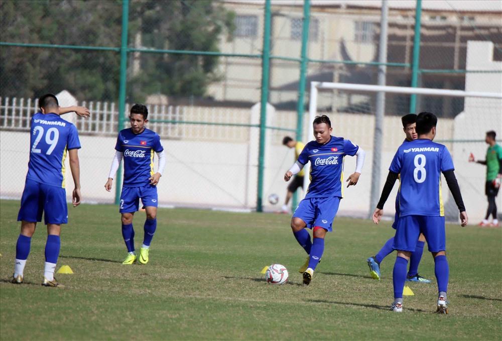 Cầu thủ gốc Nghệ Anh cho biết anh vẫn tập luyện và duy trì phong độ dù không thi đấu.