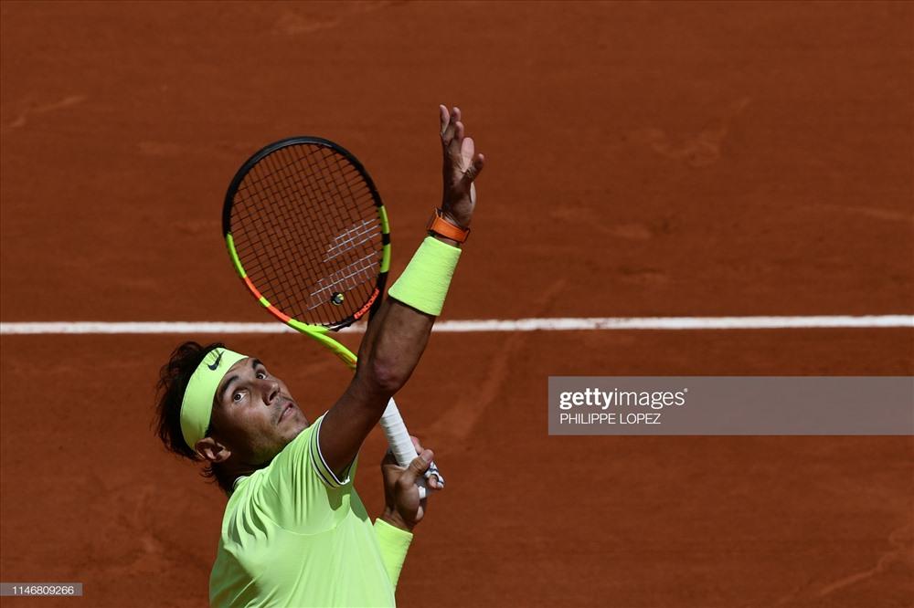 Nadal vẫn không thể cản phá. Ảnh: Getty.