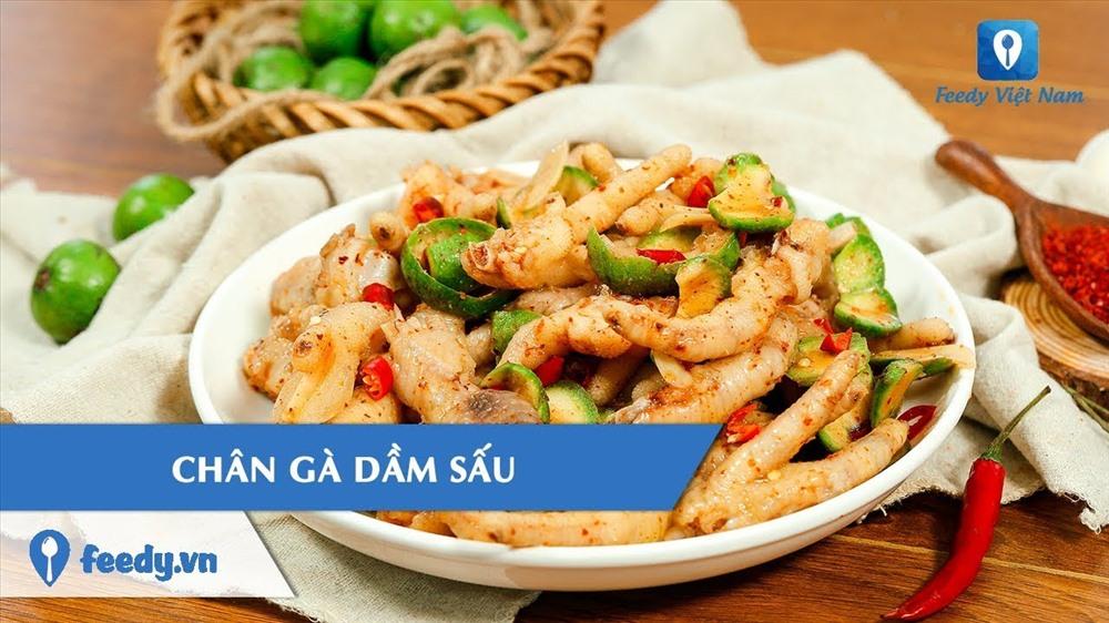 Chân gà mắm sấu chua ngọt - chua chua ngọt ngọt mới lạ trong làng ẩm thực, nguồn: Feedy.vn