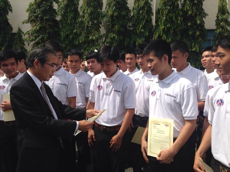 Sinh viên tốt nghiệp chuyên ngành tiếng Nhật sẽ có nhiều cơ hội ở các DN Nhật (Ảnh minh họa) - Ảnh: L.T