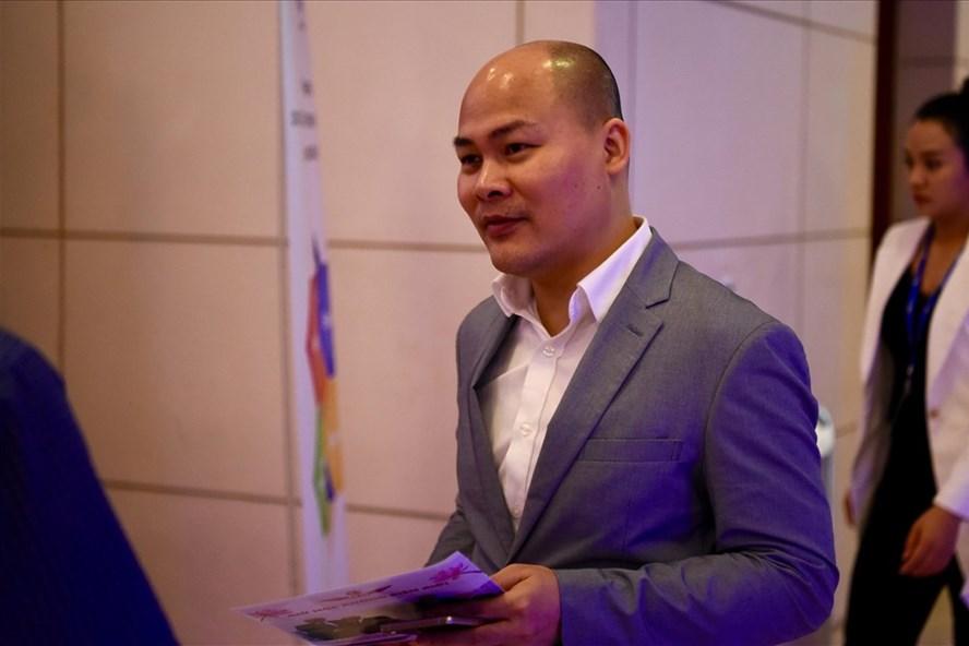 Ông Nguyễn Tử Quang- CEO BKAV. Ảnh: Sơn Tùng