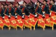 """13.000 binh sĩ hô lớn """"Ura"""" trong lễ diễu binh trên Quảng trường Đỏ"""