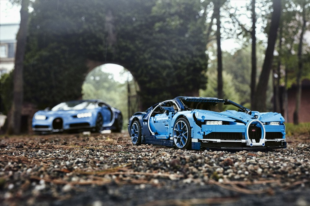 Mẫu xe mô hình LEGO Technic Bugatti Chiron. Ảnh: Carscoops