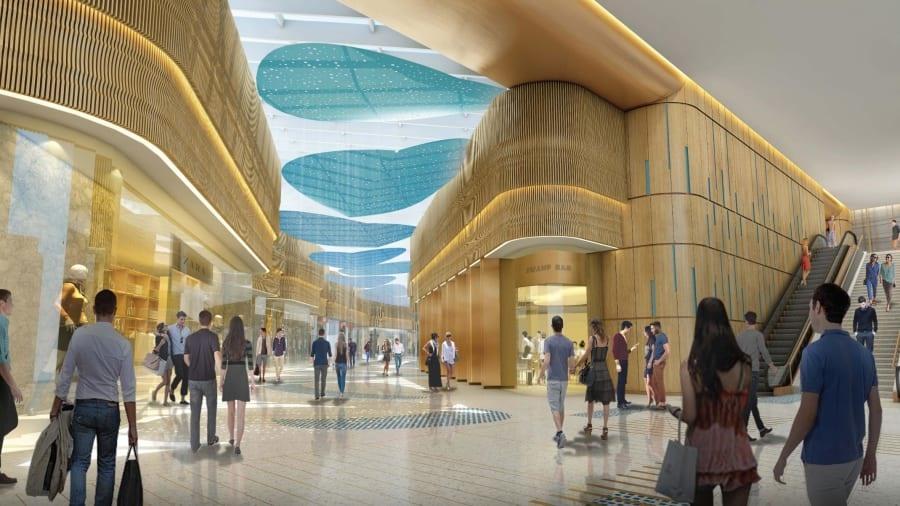 Khách sạn Hard Rock có 36 tầng, cao 121 mét sẽ là một trung tâm nghỉ dưỡng và giải trí hàng đầu sau khi đi vào vận hành. Ảnh: CNN