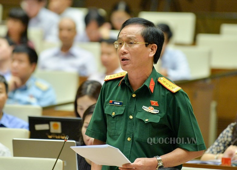 Đại biểu Vũ Xuân Hùng (đoàn Thanh Hoá). Ảnh: Quochoi.vn