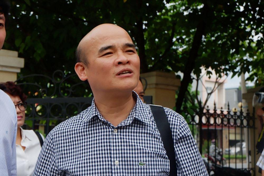Ông Quang - đại diện Bộ Y tế.