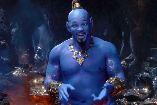 Aladdin nhiều khả năng trở thành tác phẩm có doanh thu cao thứ ba sự nghiệp Will Smith sau khi kết thúc trình chiếu. Ảnh: Disney.
