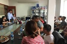Công đoàn TCty Hàng hải Việt Nam hỗ trợ lao động bị mất việc