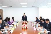 Phó Thủ tướng Chính phủ Vương Đình Huệ thăm Chi nhánh BIDV Yangon