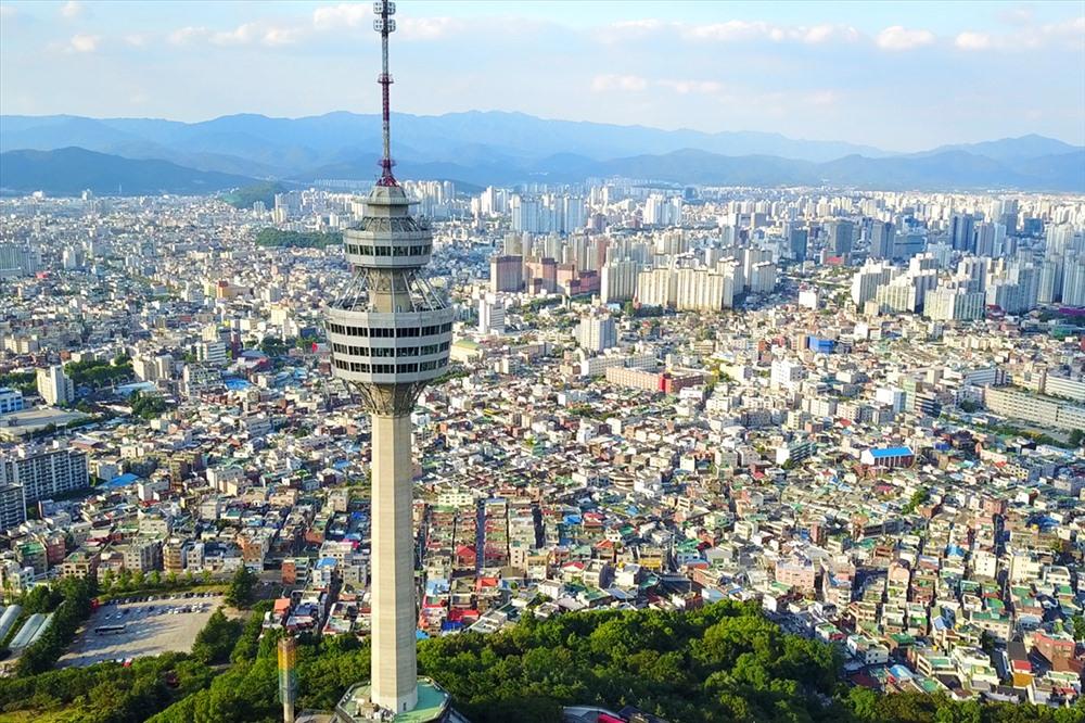 83 tầng E-World 83 là nơi lý tưởng nhất để ngắm toàn cảnh Daegu