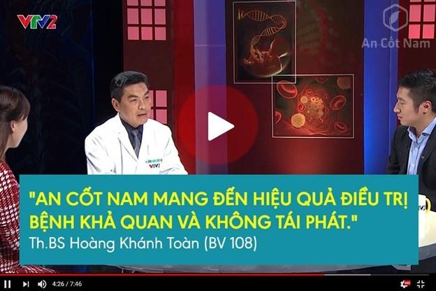"""An Cốt Nam được Bs. Hoàng Khánh Toàn đánh giá rất cao trong """"Sống khỏe mỗi ngày"""" VTV2"""