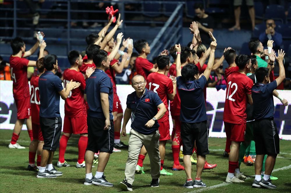 Chiến lược gia người Hàn cùng bóng đá Việt Nam gặt hái được nhiều thành công trong năm qua. Ảnh: Đ.Đ