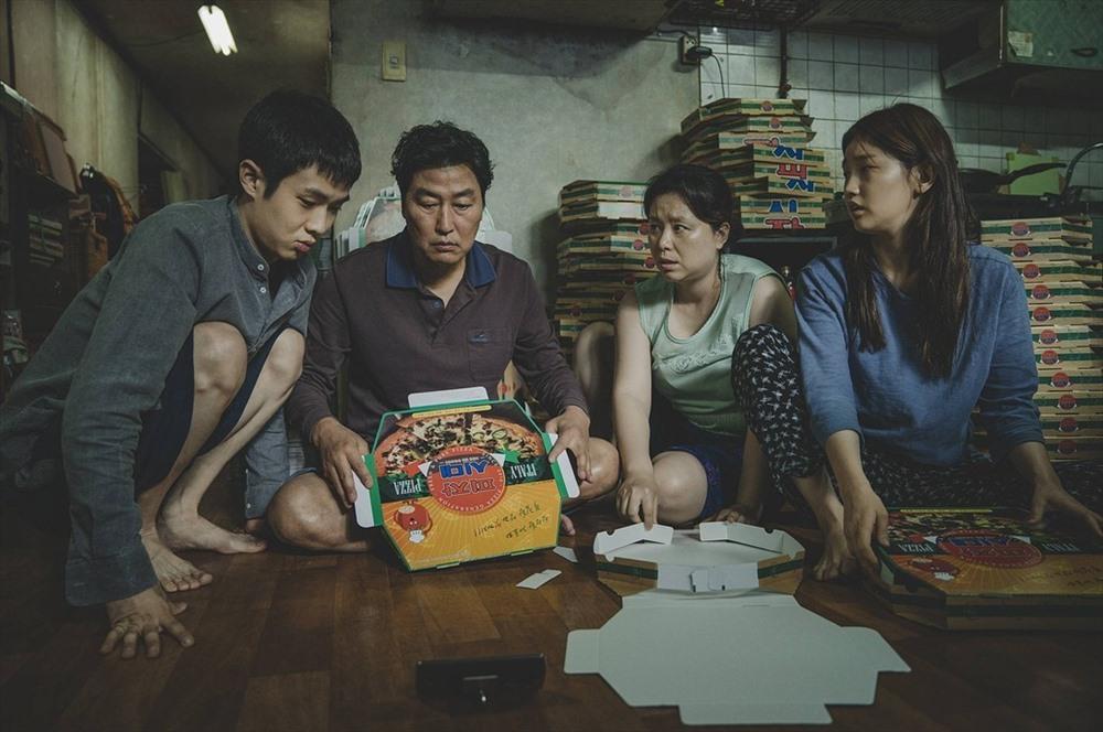 Bộ phim Kí sinh trùng nhận được sự quan tâm lớn tại Hàn Quốc. Ảnh: