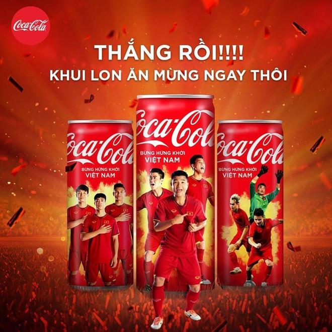 """Cụm từ """"Mở lon Việt Nam"""" được cho là có dấu hiệu về hành vi quảng cáo thiếu thẩm mỹ. Ảnh: Coca-Cola Việt Nam."""