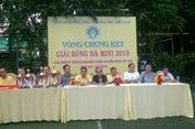 Chung kết giải bóng đá mini Công đoàn TCty Lương thực Miền Nam năm 2019