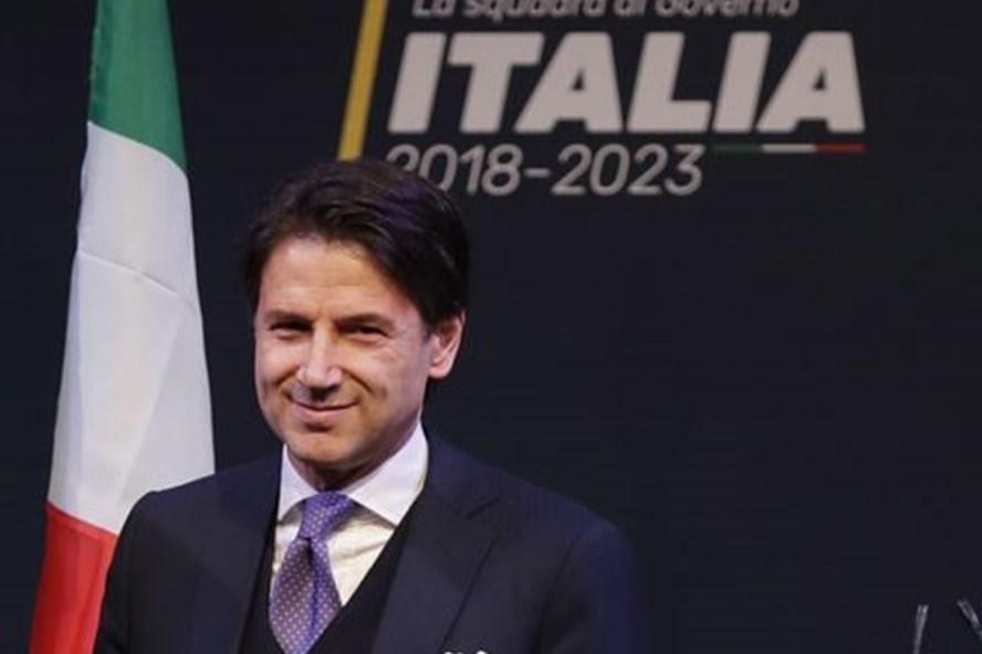 Thủ tướng Italia Giuseppe Conte. Ảnh: AP.