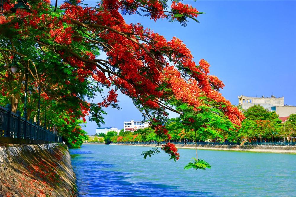 Hồ Tam Bạc là một trong những điểm tham quan, vui chơi, thể dục hấp dẫn người Hải Phòng và du khách