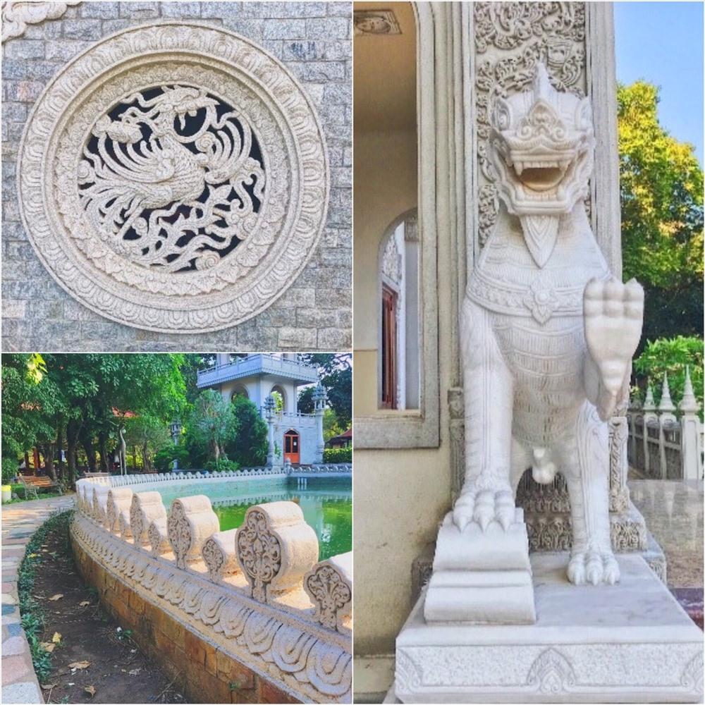 Cận cảnh những tuyệt tác kiến trúc của ngôi chùa Bửu Long.