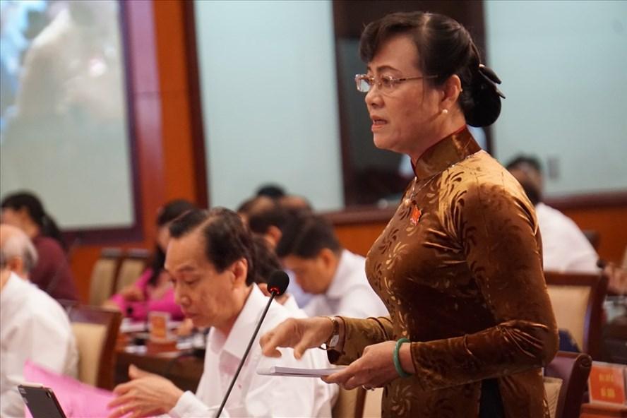 Đại biểu HĐND TPHCM Nguyễn Thị Quyết Tâm.  Ảnh: M.Q