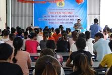LĐLĐ tỉnh Thái Bình truyền thông công tác dân số, sức khỏe sinh sản