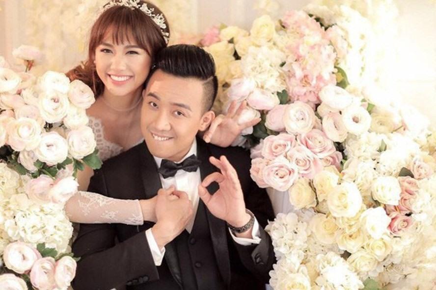 Trấn Thành và Hari Won là cặp đôi đẹp nhất nhì showbiz Việt. Ảnh: ST