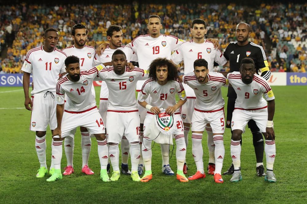 Đội tuyển UAE. Ảnh: AFC.