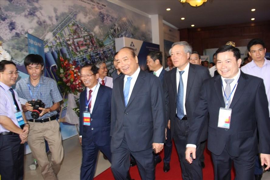 Thủ tướng Nguyễn Xuân Phúc dự Hội nghị xúc tiến đầu tư tại Quảng Ngãi. Ảnh: Hà Phương