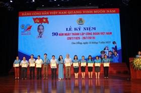 LĐLĐ tỉnh Cao Bằng kỷ niệm 90 năm Công đoàn Việt Nam