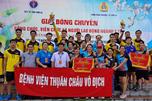 Công đoàn ngành Y tế Sơn La tổ chức giải bóng chuyền CNVCLĐ