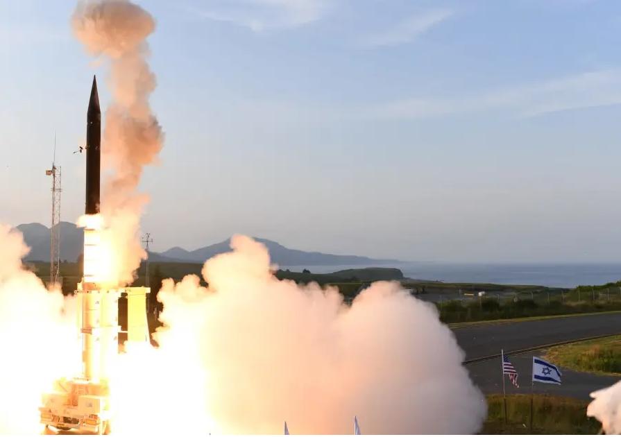 Israel và Mỹ thử thành công Arrow-3 tại Alaska. Ảnh: Bộ Quốc phòng Israel.